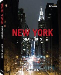 Libro New York Snapshots Carter Berg