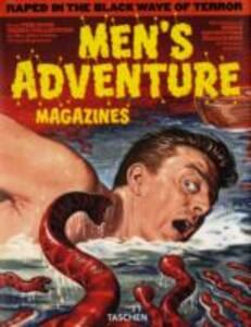 Men's adventure magazines. Ediz. inglese, francese e tedesca - copertina