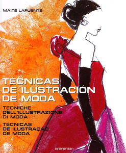 Fashion illustration techniques (IPE) - Maite Lafuente - copertina