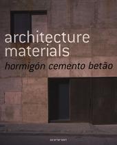 Architecture materials concrete. Ediz. multilingue