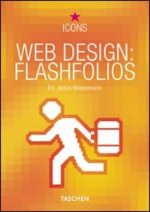 Libro Web design: flashfolios. Ediz. multilingue Julius Wiedemann