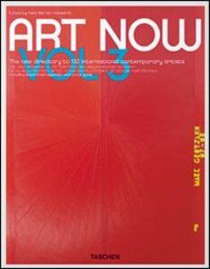Foto Cover di Art now 3. Ediz. multilingue, Libro di  edito da Taschen