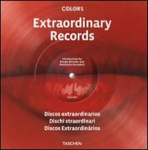 Libro Extraordinary records. Ediz. italiana, spagnola e portoghese Giorgio Moroder , Alessandro Benedetti