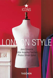 London style. Ediz. italiana, spagnola e portoghese - Angelika Taschen - copertina