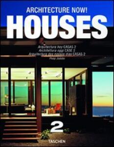 Architecture now! Houses. Ediz. italiana, spagnola e portoghese. Vol. 2 - Philip Jodidio - copertina