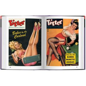 Libro 1000 Pin-up Girls. Ediz. francese, inglese e tedesca  1
