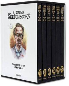 Libro Robert Crumb. The sketchbooks. (1982-2011). Ediz. illustrata Dian Hanson