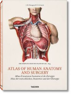 Foto Cover di Atlas of human anatomy and surgery. Ediz. inglese, francese e tedesco, Libro di Jean-Baptiste Bourgery,Nicolas H. Jacob, edito da Taschen