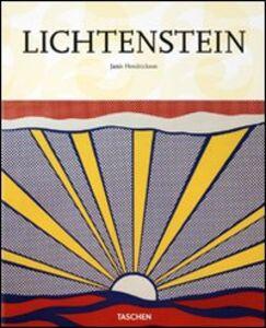 Foto Cover di Lichtenstein, Libro di Janis Hendrickson, edito da Taschen