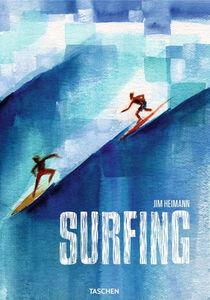 Libro Surfing. Ediz. inglese, francese e tedesca Jim Heimann 0