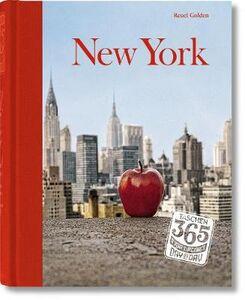 Libro 365, day-by-day, New York. Ediz. tedesca, inglese e francese