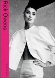 Libro Rick Owens. Ediz. italiana, inglese, spagnola e portoghese Terry Jones