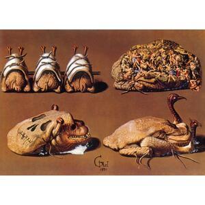 Les dîners de Gala. Cene di Gala. Il ricettario surrealista di Salvador Dalí. Ediz. illustrata - Salvador Dalì - 4