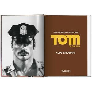 The little book of Tom of Finland: cops & robbers. Ediz. inglese, francese e tedesca - 2