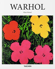 Warhol - Klaus Honnef - copertina