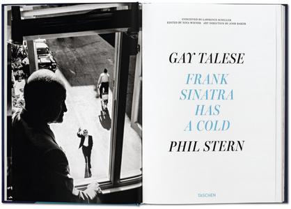 Libro Frank Sinatra has a cold. Ediz. limitata Gay Talese , Phil Stern 1