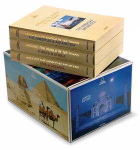 Libro National Geographic. Around the world in 125 years. Ediz. illustrata