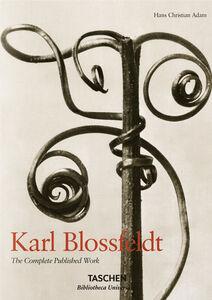 Foto Cover di Karl Blossfeldt. L'incanto della flora. Ediz. italiana, spagnola e portoghese, Libro di Hans C. Adam, edito da Taschen