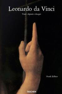 Leonardo da Vinci. Tutti i dipinti e disegni. Ediz. illustrata - Johannes Nathan,Frank Zöllner - copertina
