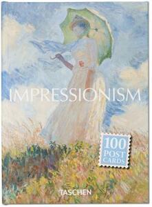 Postcard set impressionism. Ediz. inglese, francese e tedesca