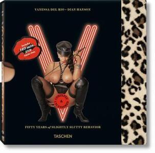 Vanessa Del Rio. Ediz. inglese, francese e tedesca. Con DVD - Dian Hanson - copertina
