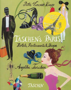Taschen's Paris. Hotels, restaurants & shops. Ediz. italiana, spagnola e portoghese - Angelika Taschen - copertina