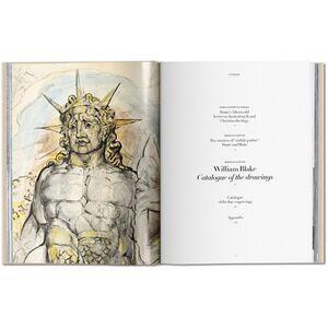Foto Cover di William Blake. I disegni per la Divina Commedia di Dante, Libro di Sebastian Schütze,M. Antonietta Terzoli, edito da Taschen 1