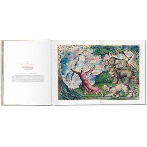 Foto Cover di William Blake. I disegni per la Divina Commedia di Dante, Libro di Sebastian Schütze,M. Antonietta Terzoli, edito da Taschen 2