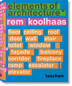 Elements of architecture - Rem Koolhaas - copertina