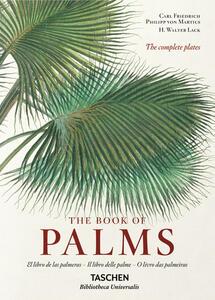 C. F. P. von Martius. The book of palms. Ediz. italiana, spagnola e portoghese - H. Walter Lack - copertina