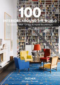 Foto Cover di 100 interiors around the world. Ediz. italiana, spagnola e portoghese, Libro di  edito da Taschen