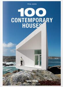 100 contemporary houses. Ediz. italiana, spagnola e portoghese - Philip Jodidio - copertina