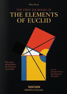 Partyperilperu.it I primi sei libri degli Elementi di Euclide. Ediz. italiana, spagnola e portoghese Image