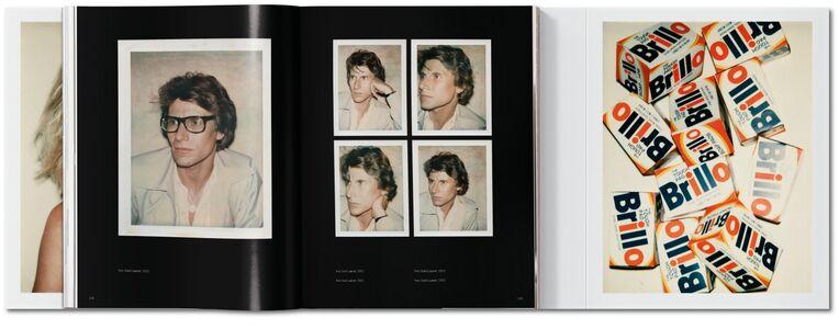 Foto Cover di Andy Warhol. Polaroids. Ediz. italiana, spagnola e portoghese, Libro di Reuel Golden, edito da Taschen 2