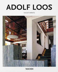 Adolf Loos. Ediz. illustrata - August Sarnitz,Peter Gössel - copertina