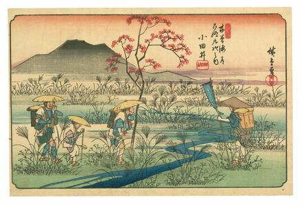 Hiroshige, the sixty-nine stations along the kisokaido. Ediz. italiana e spagnola - Hiroshige,Andreas Marks,Rhiannon Paget - 3