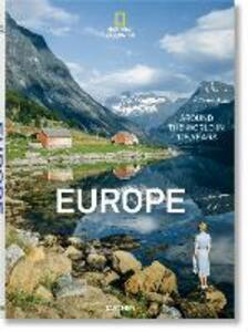 National geographic. Around the world in 125 years. Europe. Ediz. illustrata - copertina