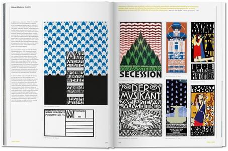 The history of graphic design. Ediz. italiana e spagnola. Vol. 1: 1890-1959. - Jens Müller,Julius Wiedermann - 3