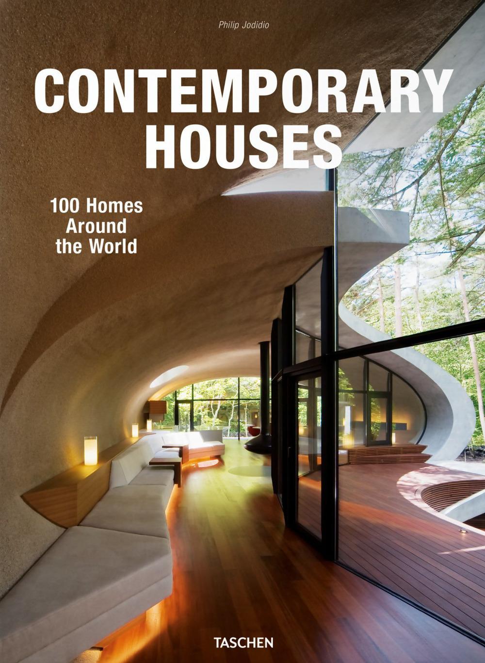 Image of 100 contemporary houses. Ediz. italiana, spagnola e portoghese