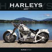 Cartoleria Calendario 2017 da muro Harleys Alpha Edition