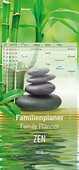 Cartoleria Calendario da parete Family Planner 2018 Alpha Edition 21 x 45 cm. Zen Alpha Edition