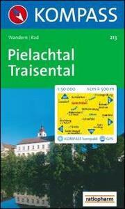 Carta escursionistica n. 213. Austria. Ad est delle Alpi. Vienna, Stiria... Pielachtal, Traisental, St. Polten 1:50.000. Adatto a GPS. DVD-ROM digital map. Ediz. bilingue