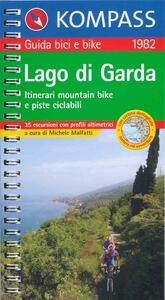 Guida bici e bike n. 1982. Piste ciclabili & MTB Lago di Garda 1:50.000 - copertina