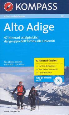 Atlante scialpinismo n. 591. Alto Adige