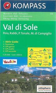 Carta escursionistica n. 147. Trentino, Veneto. Alta Val di Non, Le Maddalene 1:25000. Adatto a GPS. Digital map. DVD-ROM - copertina
