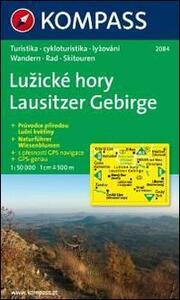Carta escursionistica e stradale n. 2084. Lausitzer Gebirge. Adatto a GPS. DVD-ROM. Digital map