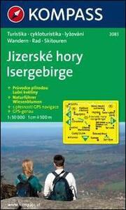 Carta escursionistica e stradale n. 2085. Isergebirge. Adatto a GPS. DVD-ROM. Digital map