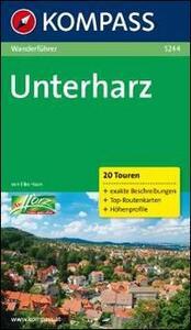 Guida escursionistica n. 5244. Unterharz - copertina