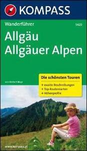 Guida escursionistica n. 5420. Aligäu, Aligäuer Alpen - copertina