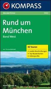Guida escursionistica n. 5432. Rund um München - copertina